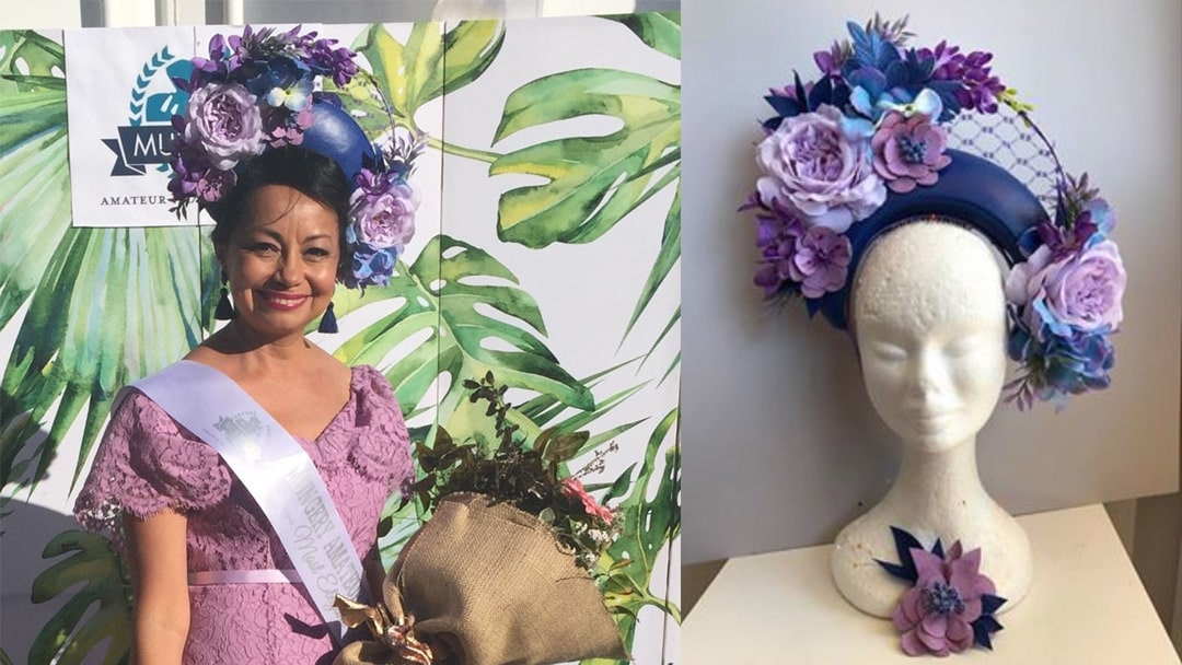 Blue Leather Crown Hire for Mungery Picnic Races – Customer Story