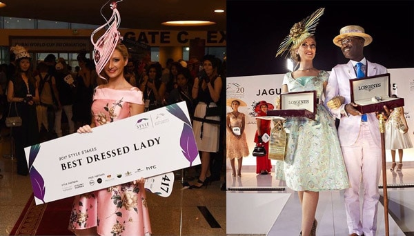 Dubai World Cup Winner Best Dressed Lady