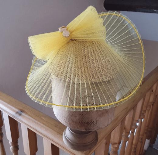 crinoline hat, millinery, hat