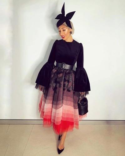 milano imai fashion blogger wearing cessiah alice millinery black hat