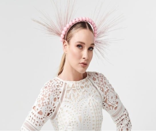 pearl headband course, millinery course