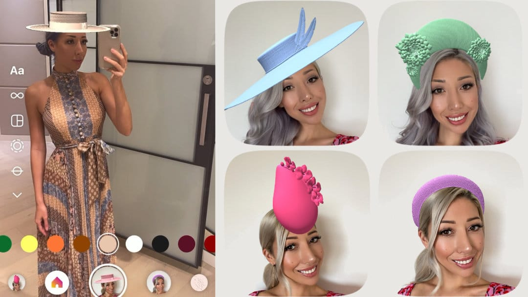 Introducing our Instagram Hat Filter   Plan your Outfit with a Virtual Hat