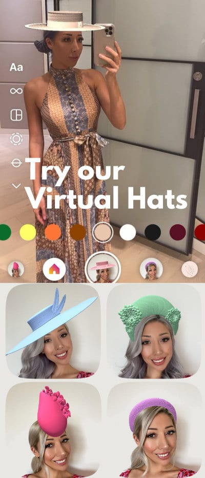 Instagram Hat Filter Try on Virtual Hat Augmented Reality