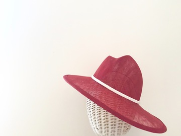 For Rent: Red Asymmetric Hat