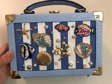 For Rent: Gorgeous marine-inspired bag!
