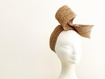 For Rent: Raffia Braid Wrap-around Bow