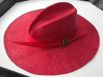 For Rent: Large brim Red hat