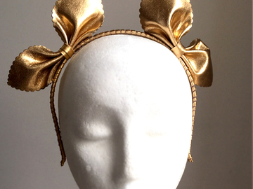 For Sale: Dawn - Leather Fascinator