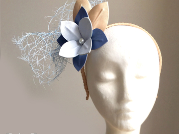 For Sale: Leigh Leather Fascinator
