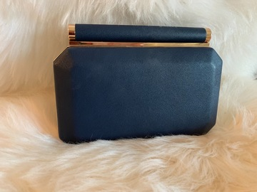 For Rent: Navy Clutch