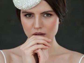 For Sale: Crystal bridal hat