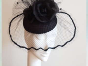 For Sale: Stunning Monika Neuheuser fascinator