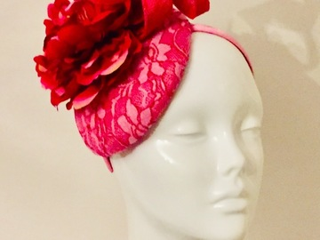 For Sale: Red Flower Hat