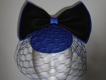 For Sale: Royal blue button and bow