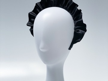 For Sale: Black Gathered Headband