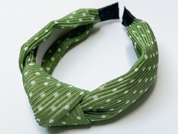 For Sale: Green Knotted Headband