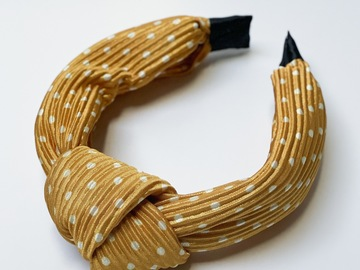 For Sale: Mustard Knotted Headband