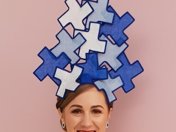 For Rent: Blue Puzzle Crown
