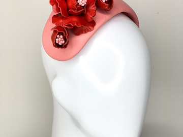 For Sale: Bouquet Bandeau in Pink & Red
