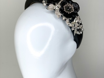For Sale: Sparkle My Darling Headband in Black