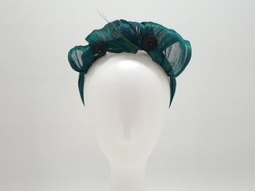 For Sale: Juliette Silk Abaca Headband