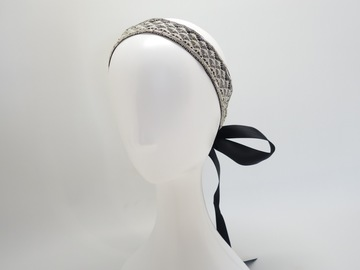 For Sale: Eloise Lace Ribbon Headband