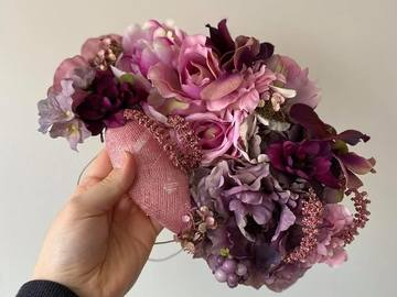 For Rent: Pink & Purple Floral Statement