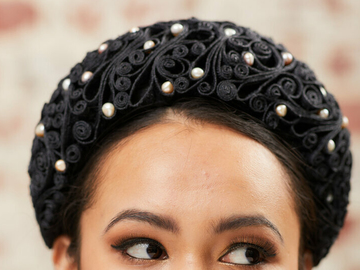 For Rent: Braid Headband Black
